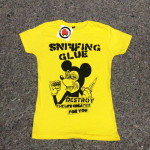 Sniffing Glue - Mickey Mouse Lady Fit