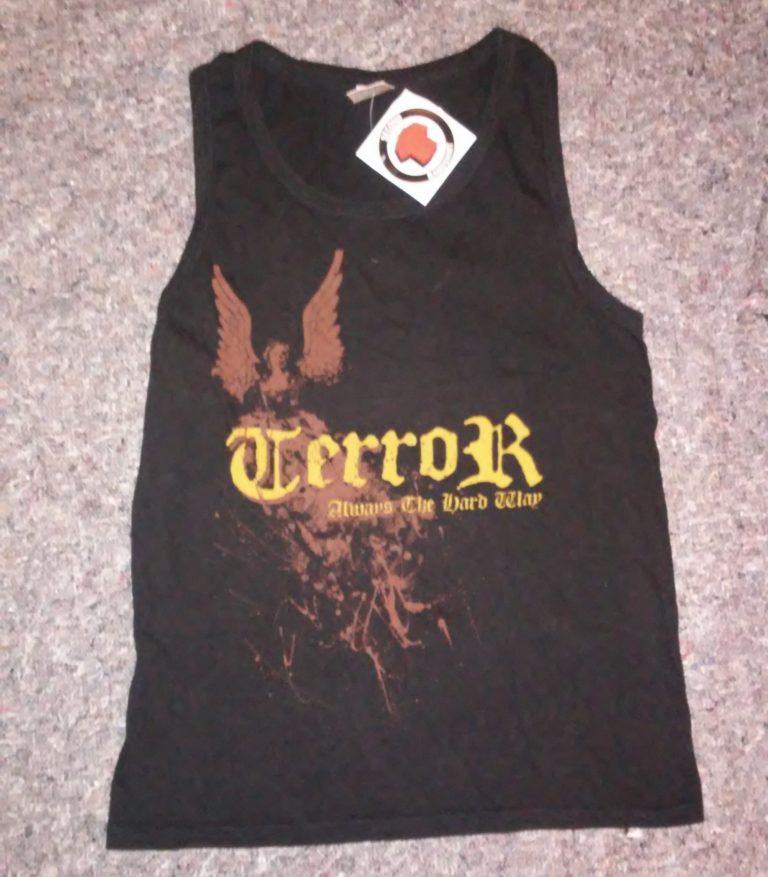 Terror - Tank Top - Always The Hard Way